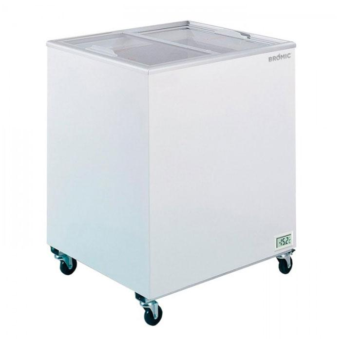 Bromic 191L Flat Top/Flat Glass Chest Freezer CF0200FTFG