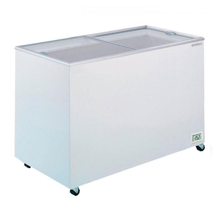 Bromic CF0400FTFG Flat Top/Flat Glass Chest Freezer 401L - ICE Group