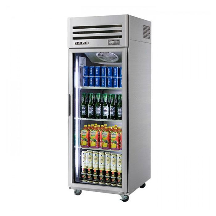 Skipio 1 Glass Door Upright Fridge SRT25-1G