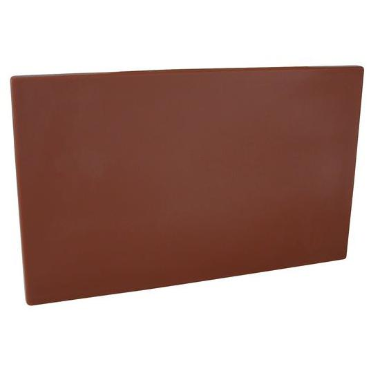 Cutting Board PE 250x400x13mm Brown 48019-BN
