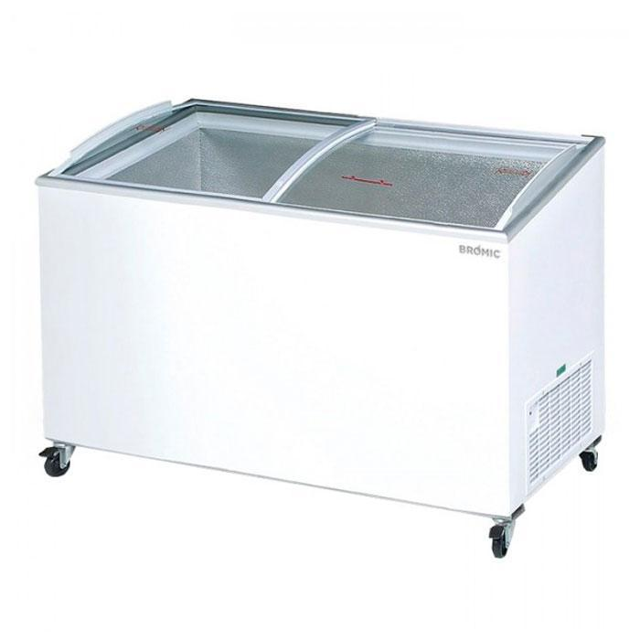 Bromic 350L Angled Glass Top Display Chest Freezer CF0400ATCG