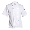 ChefsCraft Lightweight Classic Chef Jacket S/S White XS CJ049