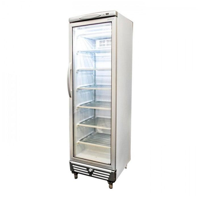 Bromic 300L LED Flat Glass Door Upright Display Freezer UF0374S
