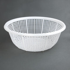 Vogue Round Colander White 380mm - icegroup hospitality superstore