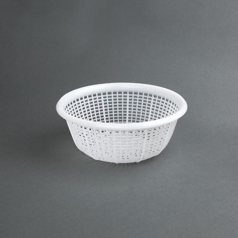 Vogue Round Colander White 230mm