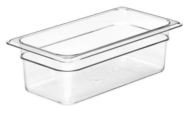 Cambro GN 1/3 Food Pan 100mm 3.6L - Clear 34CW135