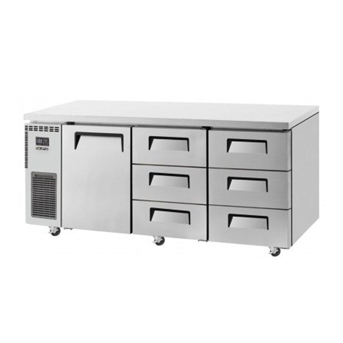 Skipio 538L Underbench Drawer Freezer SUR18-3D-6