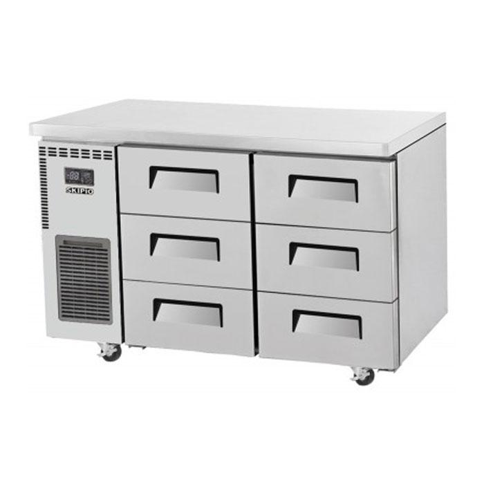 Skipio 311L Underbench Drawer Fridge SUR12-3D-6