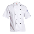 ChefsCraft Lightweight Classic Chef Jacket S/S White S CJ049