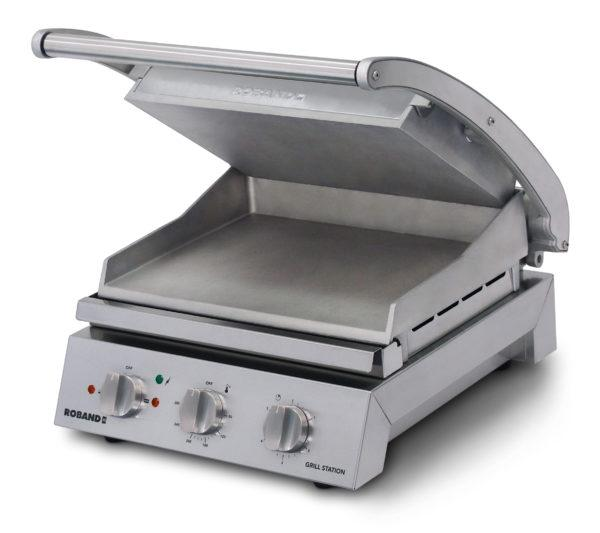 Roband Grill Station 6 Slice Smooth Plates GSA610S