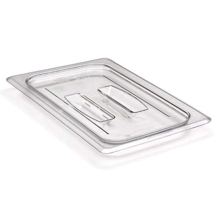 Cambro GN 1/4 Cover with Handle - Clear 40CWCH135