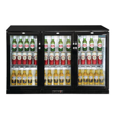 Polar 320L G-Series Back Bar Cooler with Hinged Doors