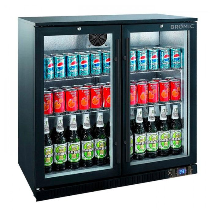 Bromic 190L Back Bar Display Chiller Hinged Door BB0200GD-NR