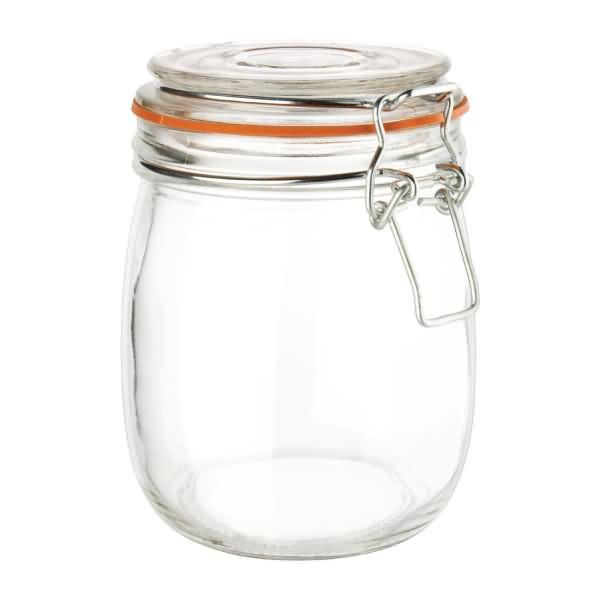 Vogue Clip Top Preserve Jar 750ml - ICE Group