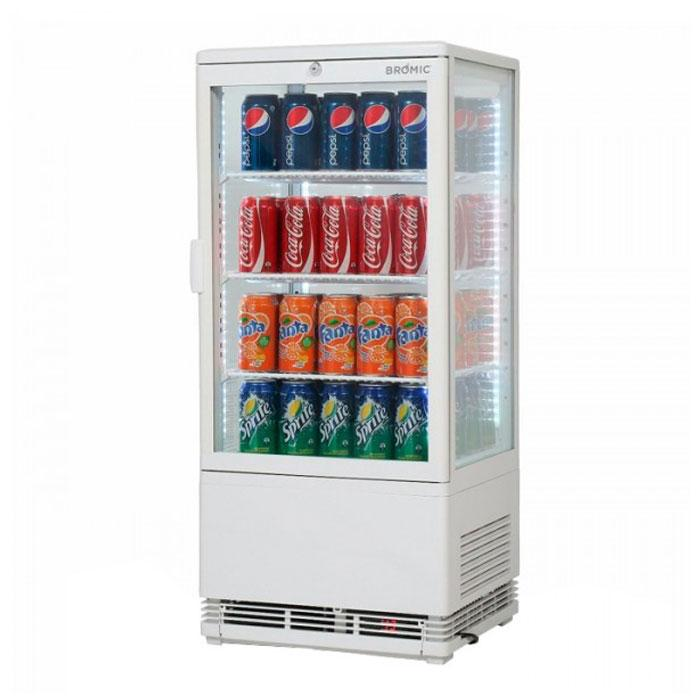 Bromic Countertop Beverage Chiller Flat Glass LED CT0080G4W