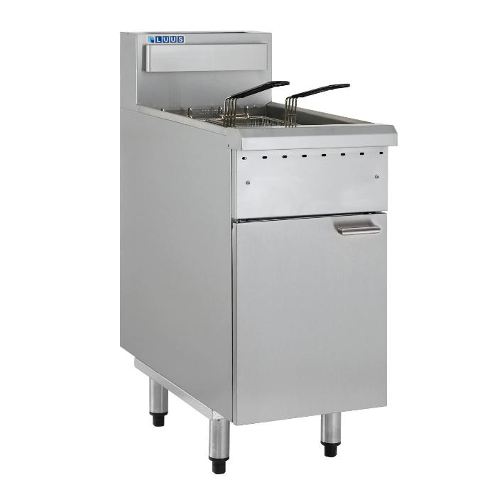 LUUS Essentials Gas Fryer 400mm with 2 Baskets FG-40
