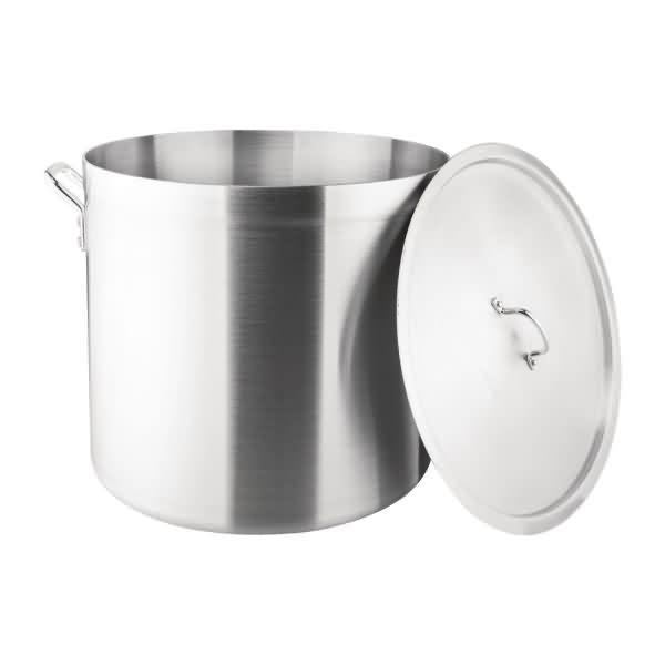 Vogue Stock Pot and Lid  56.7Ltr