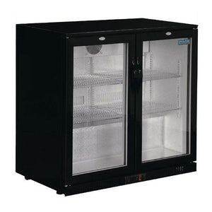 Polar 208L G-Series Back Bar Cooler with Hinged Doors