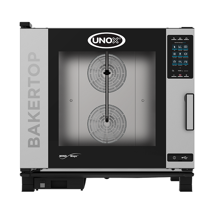 UNOX Bakertop MIND.Maps 6 Bakers Trays Electric Combi Oven XEBC-06EU-EPR
