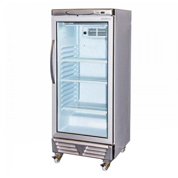Bromic 215L Flat Glass Door Display Chiller GM0220 LED ECO