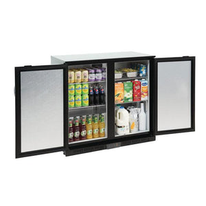 Polar 208L G-Series Back Bar Cooler with Solid Doors