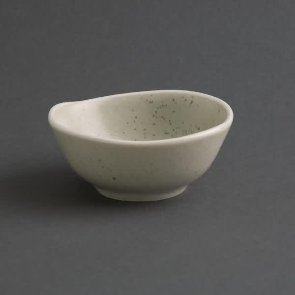 6PCE Olympia Chia Dipping Dish Sand 80mm