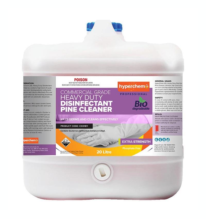 Hyperchem Disinfectant Pine Cleaner 20L 20003