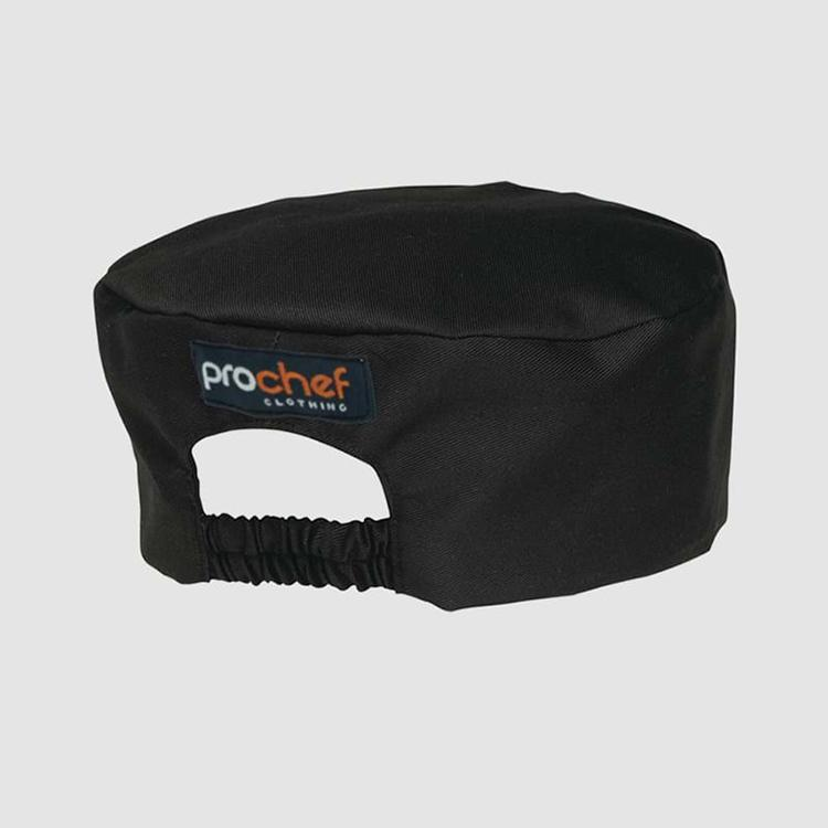 Aussie Chef Prochef Black Box Hat Regular PROB04