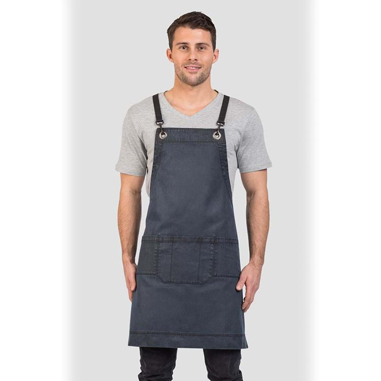 Aussie Chef Platinum Series Outback Bib Apron Lagoon AC-OUTBACK02