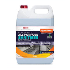 Hyperchem All Purpose Sanitiser Concentrate 5L 71802 - ICE Group HospitalityWarehouse