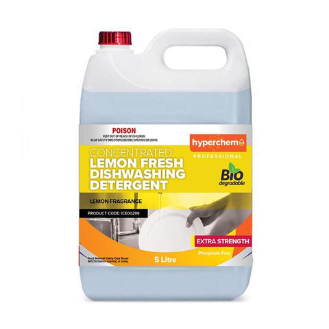 Hyperchem Lemon Fresh Dishwashing Detergent 5L 11702