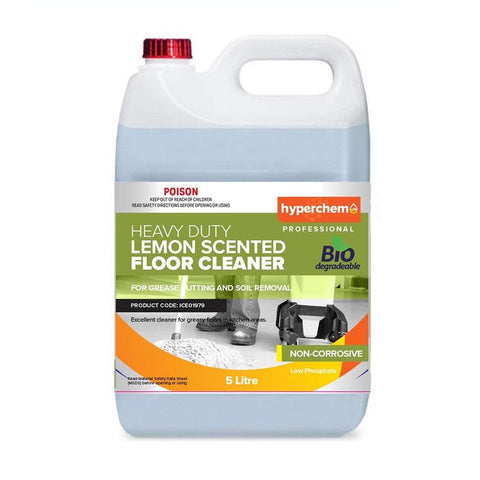 Hyperchem Lemon Scent Floor Cleaner 5L 38002