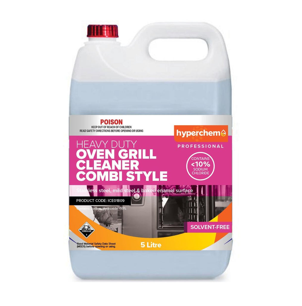 Hyperchem Combi Clean For Ovens - Less 10% Sod Hyd 5L 40902