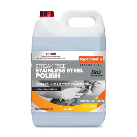 Hyperchem Stainless Steel Oil Polish 5L 41402