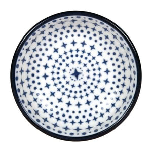 6PCE Gusta Out Of The Blue Stars Round Bowl Blue 120mm