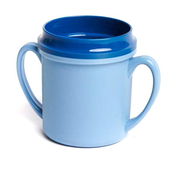 24PCE Ken Hands Mug Double Handle Insulated Pp 250ml Blue (13) 98264
