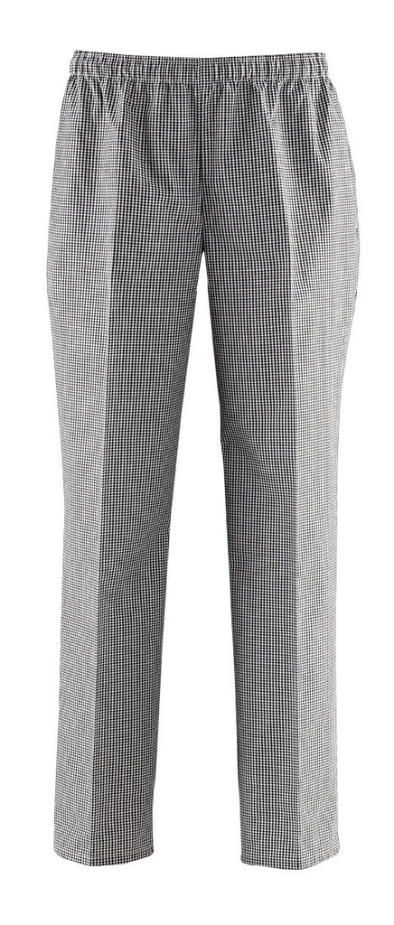 ChefsCraft Check Elastic Pants - L - CP050