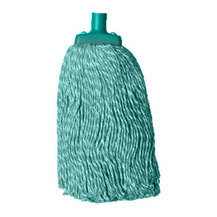 Green Solid Cotton Mop Head 400g CMMG