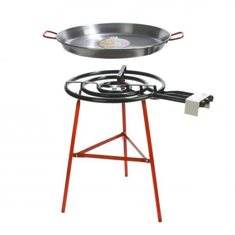 Chef Inox Paella Gas Set Stand 700mm Gas Burner 63992 - ICE Group