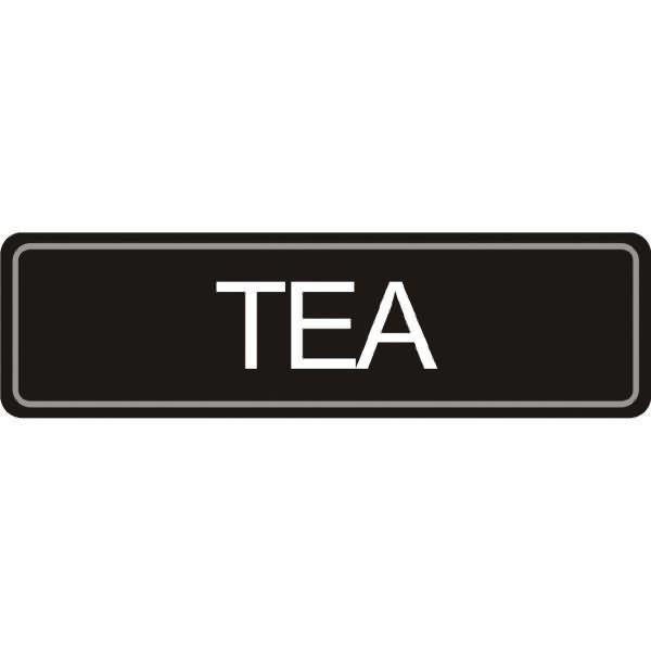 Olympia Airpot Tea label