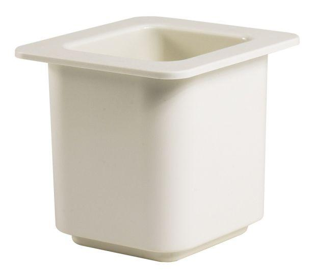 CAMBRO GN 1/6 150Mm Coldfest Food Pan 1.4L White 66CF148