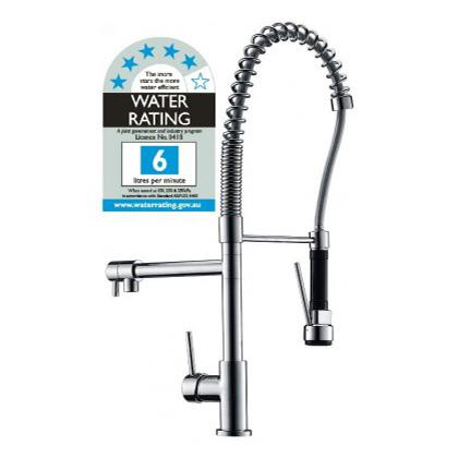 Watermark Basin Mixer Tap Faucet w/Extend - Kitchen Laundry Sink