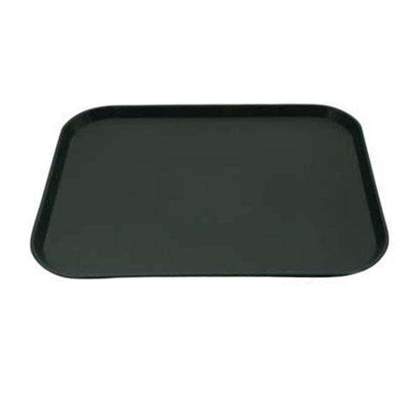 12PCE Chef Inox Plastic Tray 300x400mm Green 06985-GN