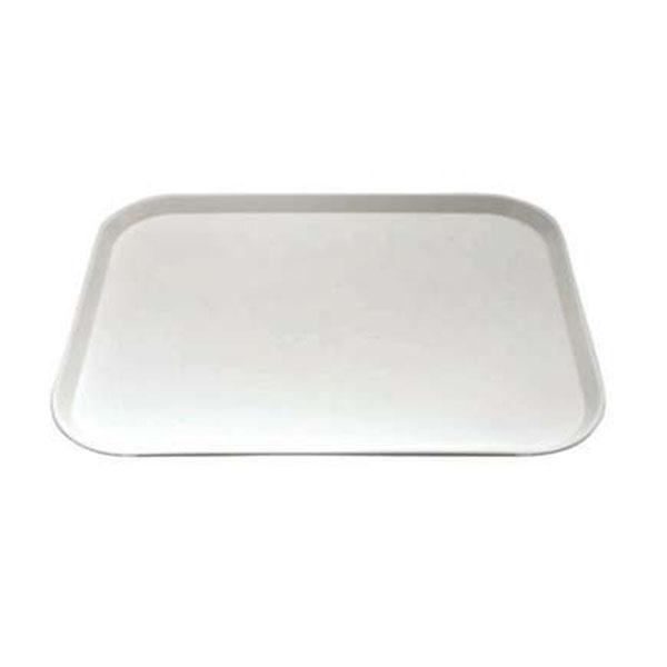 12PCE Chef Inox Plastic Tray 450x350mm White 06986-W