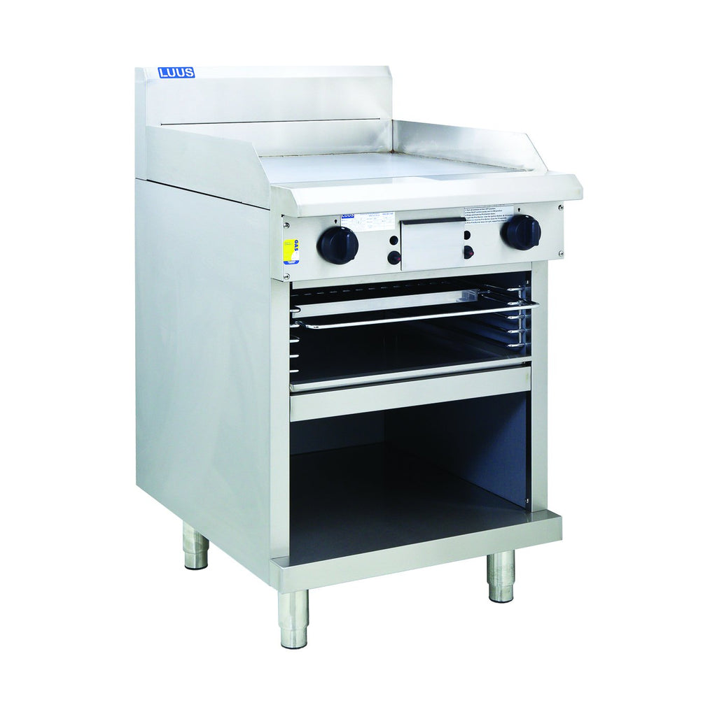 LUUS GTS-6 Professional Griddle Toaster 600mm