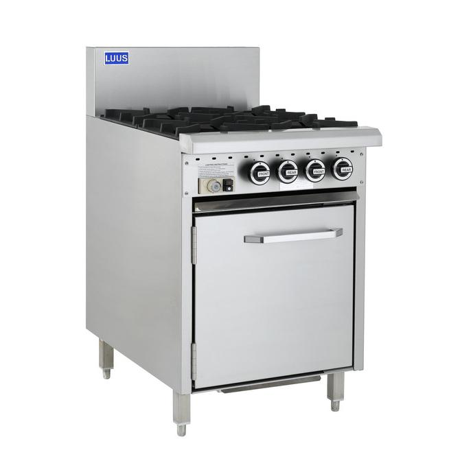 LUUS Essentials 4 Burner Static Oven 600mm CRO-4B