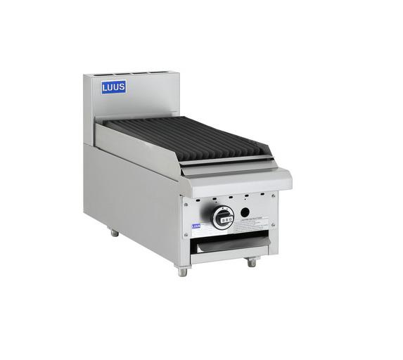 LUUS Essentials Benchtop Chargrill 300mm BCH-3C-B