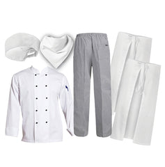 6 PCE Student Hospitality Uniform Kit (Chefscraft) - icegroup hospitality superstore