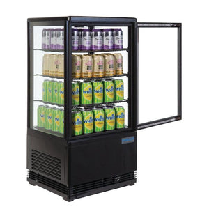 Polar 68L C-Series Display Fridge Black