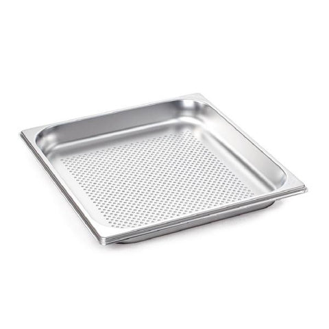 Rational Perforated S Steel 40mm Gastronorm Pan 2/3 GN 6015.2304 - ICE Group HospitalityWarehouse
